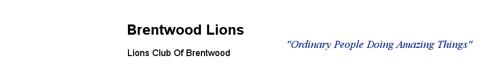 Brentwood Lions